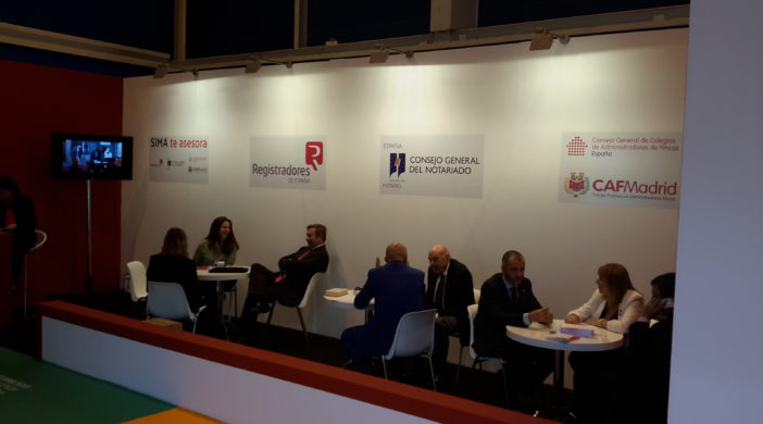 CAF Madrid en el Salon Inmobiliario de Madrid